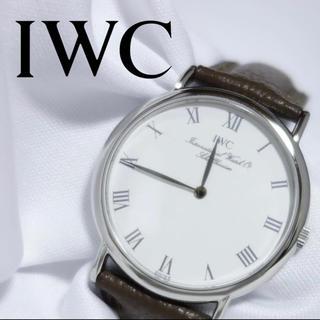IWC - 2020/8電池交換済【極上美品】IWC ポートフィノ 純正尾錠メンズ N130