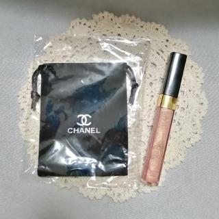 CHANEL - CHANEL シャネル リップグロス & 巾着ポーチ ①