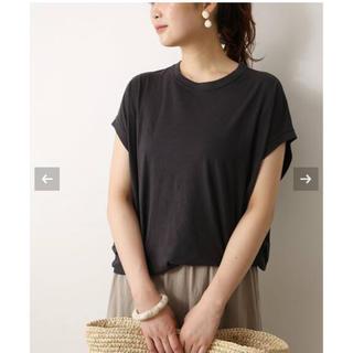 プラージュ(Plage)のPlage 【2020SS】 ★リヨセルハイゲージTシャツ2★グレー (Tシャツ(半袖/袖なし))