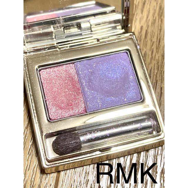 RMK(アールエムケー)の美品 RMK アイシャドウ パープルとピーチ コスメ/美容のベースメイク/化粧品(アイシャドウ)の商品写真