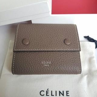 celine - セリーヌ CELINE 三つ折り財布