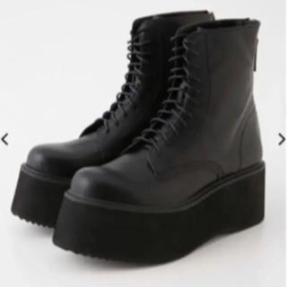 スライ(SLY)の完売商品 sly厚底ブーツ(ブーツ)