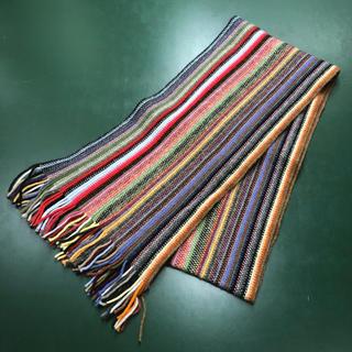 ビューティアンドユースユナイテッドアローズ(BEAUTY&YOUTH UNITED ARROWS)のUNITED ARROWS Multi-stripe Scarf(マフラー/ショール)