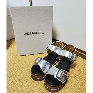 ジーナシス(JEANASIS)の◆新品◆JEANASIS ジーナシス♡スタックベルトサンダル Lサイズ(サンダル)