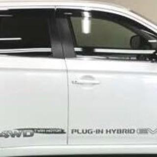三菱 - アウトランダーPHEV サイドステッカー サイドデカール