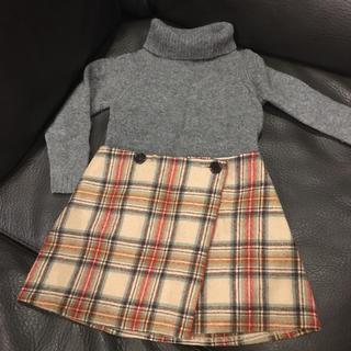 ボンポワン(Bonpoint)のボンポワンスカート・コムサセーター セットアップ(スカート)