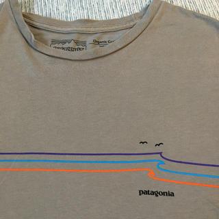 patagonia - パタゴニア  patagonia  Tシャツ グレー オーガニックコットン