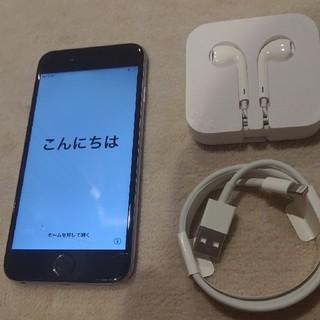 アップル(Apple)のiPhone 6 Space Gray 64GB ソフトバンク(ジャンク用)(スマートフォン本体)