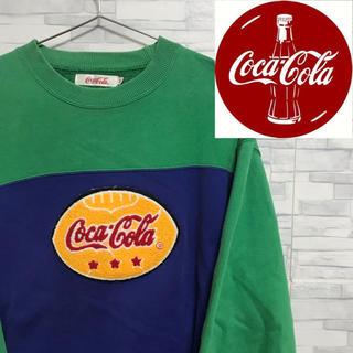 コカコーラ(コカ・コーラ)の90's Coca Cola コカコーラ スウェット vintage トレーナー(スウェット)