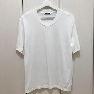 ジルサンダー(Jil Sander)の(ブラック) JIL SANDER カットソー Tシャツ(Tシャツ/カットソー(半袖/袖なし))