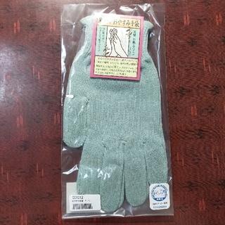 ライスフォース(ライスフォース)の【売約済】米ぬかおやすみ手袋(グリーン)+ソックス(手袋)