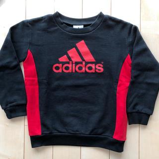 adidas - adidas アディダス トレーナー 長袖 裏起毛 120cm