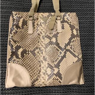 PRADA - PRADAヘビ革ミニバッグ袋カードあり