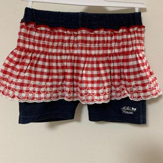 ミキハウス(mikihouse)のミキハウス パンツスカート 90(スカート)