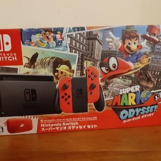 Nintendo Switch - Nintendo Switch 本体 マリオオデッセイセット