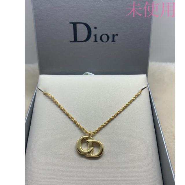 Christian Dior(クリスチャンディオール)の未使用 クリスチャン ディオール CDロゴネックレス レディースのアクセサリー(ネックレス)の商品写真