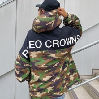ロデオクラウンズワイドボウル(RODEO CROWNS WIDE BOWL)の新品 迷彩(男女兼用)早い者勝ちノーコメント即決推奨!でも同梱で値引き可能です♪(ナイロンジャケット)