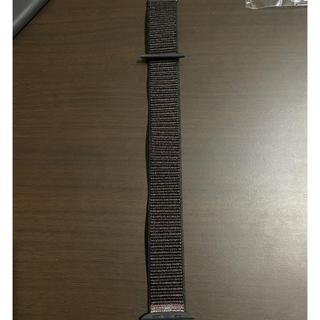 Apple Watch - Apple Watch スポーツループバンドブラック42mm/44mm
