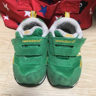 New Balance - ニューバランス グリーン 緑 スニーカー 14.0
