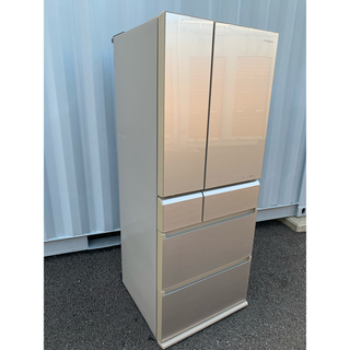 Panasonic - Panasonic 冷凍冷蔵庫 自動製氷 微凍結パーシャル フレンチドア474L