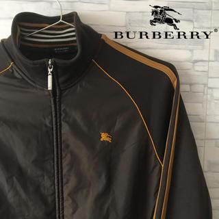 バーバリーブラックレーベル(BURBERRY BLACK LABEL)のburberry バーバリー ブラックレーベル トラックジャケット シューホース(ジャージ)