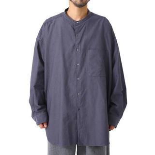 アンユーズド(UNUSED)のグラフペーパー graphpaper  バンドカラーシャツ グレー(シャツ)