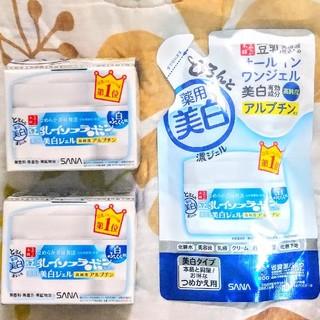 ノエビア(noevir)のサナ なめらか本舗 豆乳イソフラボン 薬用美白ジェル(オールインワン化粧品)