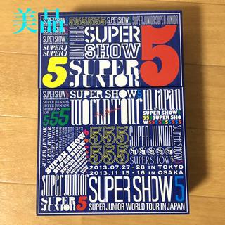 スーパージュニア(SUPER JUNIOR)のsuper show5 DVD3枚組 SUPER JUNIOR(K-POP/アジア)