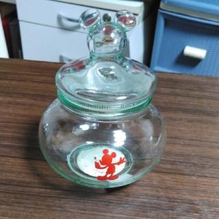 Disney - ミッキー 蓋付きガラス瓶