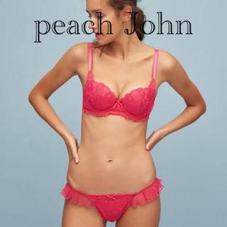 ピーチジョン(PEACH JOHN)のピーチジョン  新品未使用 デコルタンシアープリーツ(ブラ)
