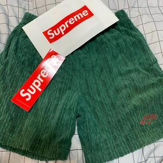 Supreme - supreme シュプリーム ベロアショートパンツ 半ズボン