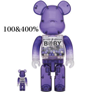 メディコムトイ(MEDICOM TOY)のMY FIRST BE@RBRICK B@BY MACAU 100&400%(その他)
