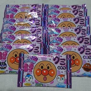 アンパンマン(アンパンマン)の3児まま様専用【13袋セット】アンパンマン グミ ぶどう(菓子/デザート)