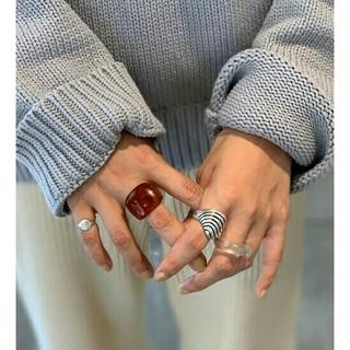 TODAYFUL - 【美品】完売TODAYFUL アクリルボリュームリング 指輪 クリアアクセサリー