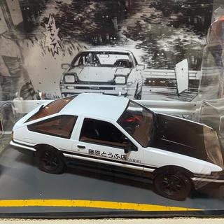トヨタ(トヨタ)のトヨタ ミニカー 頭文字D スプリンタートレノ AE86 カーボンボンネット(模型/プラモデル)