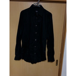 ドルチェアンドガッバーナ(DOLCE&GABBANA)のドルチェアンドガッパーナ 黒ロングシャツ(シャツ)