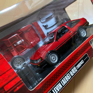 トヨタ(トヨタ)のカー模型 ラジコン トヨタ カローラ レビン AE86 後期型 1985年式(模型/プラモデル)