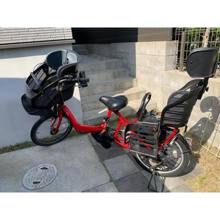 ヤマハ(ヤマハ)のヤマハ  PAS Kiss mini PM20K 20型 3人乗り 愛知県引渡し(自転車本体)