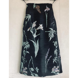 mame - mame ジャカードスカート
