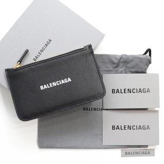 Balenciaga - 新品 バレンシアガ コインケース付きカードケース フラグメントケース ブラック