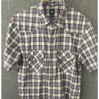 ギャップ(GAP)のGAP チェック半袖シャツ(シャツ)