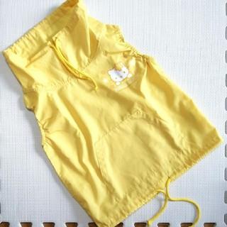 ハローキティ(ハローキティ)のサイズ110 ハローキティ ベスト 黄色(その他)