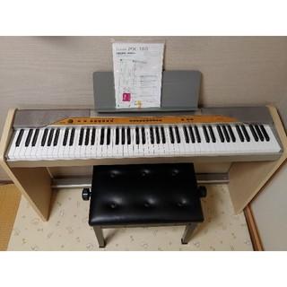 CASIO - CASIO カシオ 電子ピアノ PX-110 ペダル付純正スタンド付