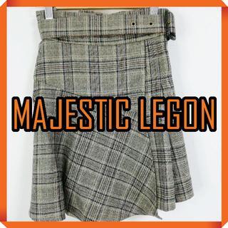 マジェスティックレゴン(MAJESTIC LEGON)のMAJESTIC LEGON キュロット パンツ ミニ 巻きスカート キッズ(キュロット)