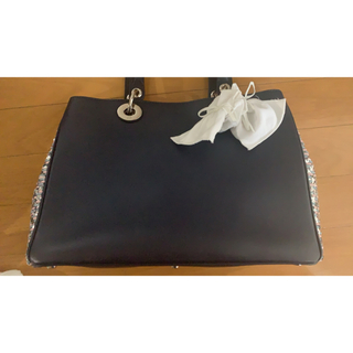 ディオール(Dior)の正規品ディオール ディオリッシモ バッグ スパンコール(ハンドバッグ)
