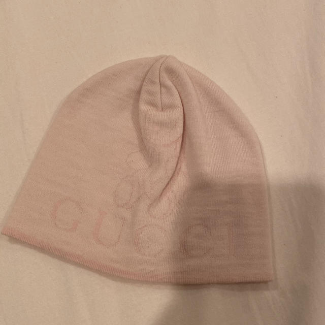 Gucci(グッチ)のGUCCI baby ベビーニット帽  キッズ/ベビー/マタニティのこども用ファッション小物(帽子)の商品写真