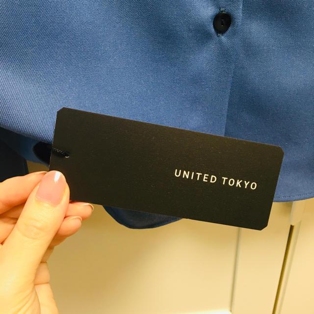 UNITED ARROWS(ユナイテッドアローズ)の即完売!2wayブラウス レディースのトップス(シャツ/ブラウス(長袖/七分))の商品写真
