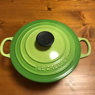 ルクルーゼ(LE CREUSET)のルクルーゼ☆ココットロンド18センチ♪(鍋/フライパン)