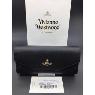 Vivienne Westwood - ヴィヴィアンウエストウッド 長財布 ブラック 折り財布 新品 特価 黒 920