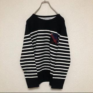 ブラックレーベルクレストブリッジ(BLACK LABEL CRESTBRIDGE)のblack label crestbridge ボーダーカットソー(Tシャツ/カットソー(七分/長袖))